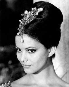 """Claudia Cardinale was the shining star of the 1960's and 1970's. She won the """"Most Beautiful Italian Girl in Tunisia"""" competition in 1957 #LaDolceVita #Vintage #Actress"""