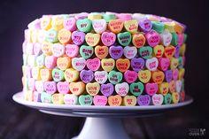 Top 50 Valentine Desserts at Iheartnaptime.net #desserts #valentines Strawberries and Cream Cake