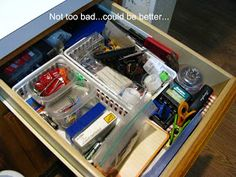 No Junk Drawer