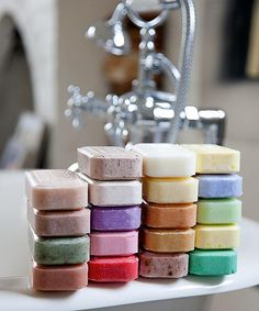 stacks of soap #coloreveryday