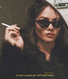 not your girl Im just a good girl with bad habits Quote Aesthetic Qoutes, Boujee Aesthetic, Badass Aesthetic, Bad Girl Aesthetic, Aesthetic Grunge, Aesthetic Pictures, Celebrity Pictures, Girl Pictures, Bad Girl Image