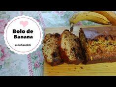 Da Panela para o Coração : Bolo de banana (com chocolate)