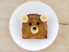 Same goes for teddy bear toast. 19 Easy And Adorable Animal Snacks To Make With Kids Cute Food, Good Food, Yummy Food, Healthy Food, Eating Healthy, Healthy Recipes, Healthy Kids, Yummy Yummy, Healthy Cooking