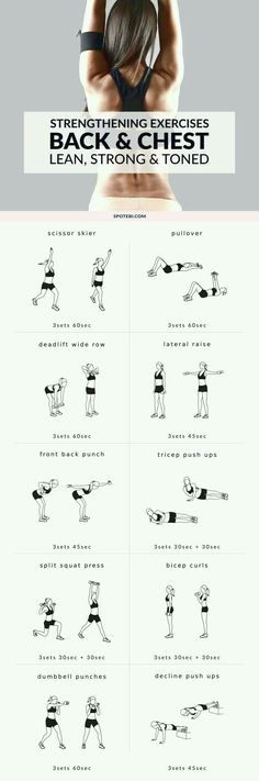 Back and Chest Workout | Posted By: NewHowToLoseBellyFat.com