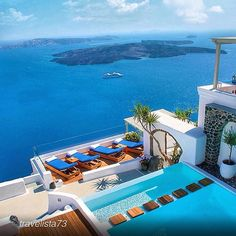 """See 15 photos and 1 tip from 21 visitors to Iconic Santorini, a boutique cave hotel. """"Iconic Santorini, a boutique cave hotel"""" Holiday Destinations, Vacation Destinations, Dream Vacations, Summer Vacations, Santorini Hotels, Santorini Greece, Imerovigli Santorini, Greece Hotels, Santorini Travel"""