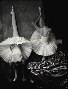 """Dancers #ballet #ballerina Black & White #dance photography - Stretch & Limber"""