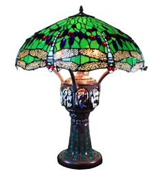 Tiffany lamp - H: 75 cmTiffany lamp - H: 75 cm - htdeco. Big collection of Tiffany lamps Dragonfly, butterflies and table lamps.Tiffany lamp with roseTiffany lamp with rose Art Deco Lighting, Wall Sconce Lighting, Wall Sconces, Louis Comfort Tiffany, Bedside Lamp, Desk Lamp, Table Lamps, Chandeliers, Butterfly Lamp