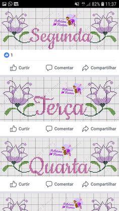 CostModa | Modelagem e Costura Cross Stitch Horse, Cross Stitch Letters, Cross Stitch Bookmarks, Cross Stitch Embroidery, Hand Embroidery, Chicken Cross Stitch, Crochet Cross, Lettering, Sewing Hacks