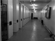 Death row cell block