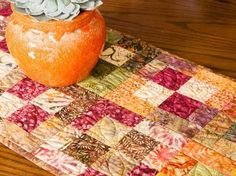 Four Square Quilt Kit  This would be very pretty for Fall