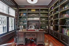 Home Office & Libraries - New Home Build, Oakville | whitehallhomes.ca