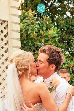 """You may now kiss the bride!"" #GrimmWedding2014 - Awwwwww <3"