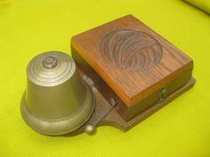 Alte el. Klingel Türklingel Hausklingel; Klingel Glocke Türglocke, Messing