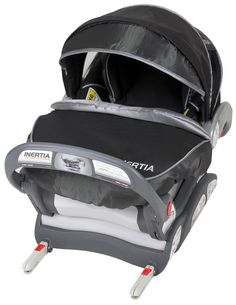 Baby Trend Inertia Infant Car Seat - Black Knight - Free Shipping - $179.99 (carseat weighs 9.5 pounds)