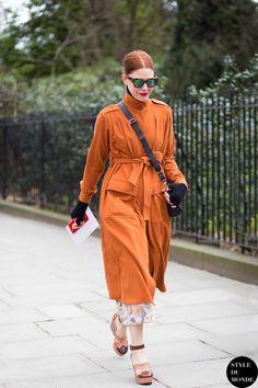 London Fashion Week FW 2015 Street Style: Christene Barberich