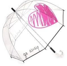 Felix Rey Rain Rain Go Away Clear Umbrella