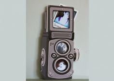 Un cadre photos comme un Rolleiflex €35.00