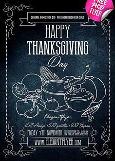 Happy Thanksgiving Free PSD Flyer Template - http://freepsdflyer.com/happy-thanksgiving-free-psd-flyer-template/ Do you need luxury and special PSD flyer for your events, parties or occasions? You are welcome to choose this one! Absolutely Free PSD flyer template was created exactly for promoting parties, music events, special celebrations, night club events or festivals.   #Bbq, #Celebration, #Dinner, #Event, #Food, #Invitation, #Music, #Night, #Party, #Thanksgiving
