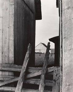 Paul Strand, The Barn, Quebec, 1936.