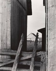 Paul Strand, The Barn, Quebec, 1936.