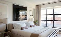 Sofisticado y fresco apartamento en Nueva York diseñado por Studio Mellone . Una vivienda amplia y luminosa, con una paleta de colores neu...