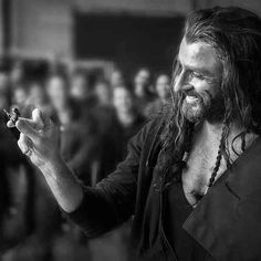Thorin Oakenshield and his Lego figurine.