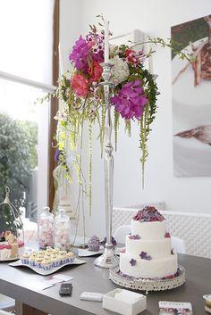 caprichia.com Weddings & Occasions: Sweet corner in our showroom & design studio in Marbella. Photography by Nani de Perez.