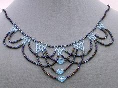 Seed Bead Jewelry Patterns   DIY Jewelry Inspiration / Multi color seed bead necklace, can't wait ...