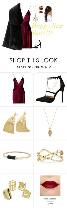 """""""Happy New Year!!!!!!"""" by nataliaace ❤ liked on Polyvore featuring Boohoo, Kendra Scott, Jessica Simpson and David Yurman"""