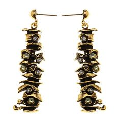 Gold pendant #earrings #artisan #madeinItaly #FloNewAge