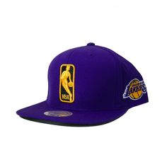 Mitchell   Ness The League Snapback Los Angeles Lakers In Purple 65d9c499c88