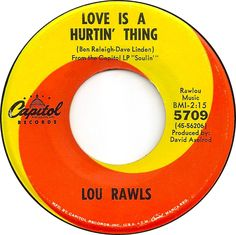 Love Is A Hurtin' Thing - Lou Rawls (1966)
