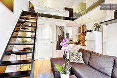 Exellent planned studio with loft