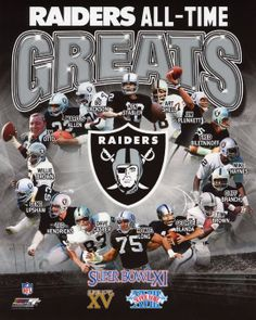 Raiders All Time Greats!