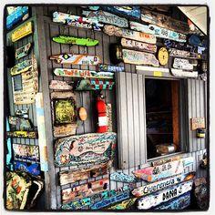"""@nicolemattostoja's photo: """"#compasscay #shack #bahamas"""