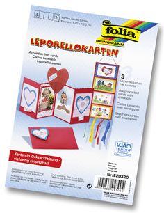 Unsere Leporellokarten bestehen aus 300 Gramm starkem Karton und sind sehr robust wie vielseitig verwendbar. Mehr unter www.folia.de