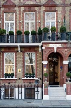 London's most charming small hotels. Sometimes small and quaint is just what you need for an event or wedding.