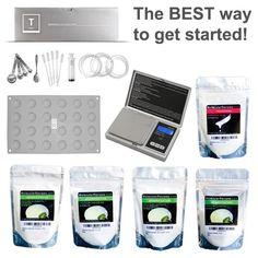 Molecular Gastronomy Store - Molecular Essential Kit, $99.95 (http://store.molecularrecipes.com/molecular-essential-kit/)