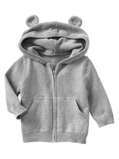 Paddington Bear&#153 for babyGap bear marled sweater hoodie Product Image