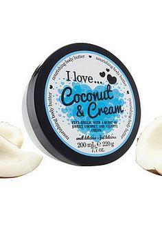 I Love..., Coconut & Cream Vartalovoide 200ml 4,75€ Coconut Cream, My Love, My Boo