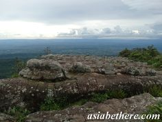 Lan Hin Pum a field of nodulated stone, Phu Hin Rongkla National Park, Phitsanulok, Central Thailand