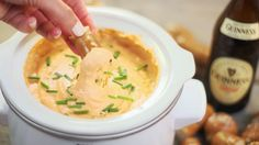 Slow-Cooker Beer Cheese Dip