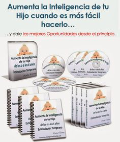 Aumenta la Inteligencia de tu Hijo Place Cards, Parenting, Place Card Holders, Baby Shower, School, Teaching Reading, Hipster Stuff, Knowledge, Babyshower