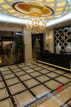 Water-jet Marble Floor Panels  Foshan Moreroom Stone Co.,Ltd Aggie Chan Tel:86-13923220432 Email:sales04@moreroomstone.com