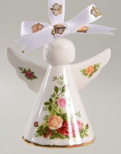 Royal Albert OLD COUNTRY ROSES Angel Ornament 10938575