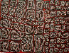 Thomas Tjapaltjarri Tingari  Medium: Acrylic on Belgium Linen Size: 90 x 120cm Year: 2010
