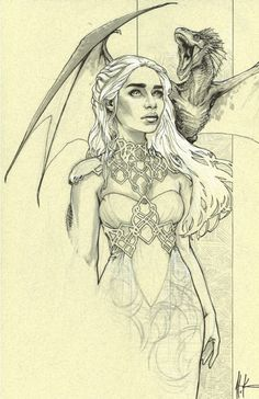 Daenerys Targaryen - Game of Thrones - Alex Konat