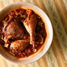 A recipe for - and a little history of - chicken cacciatore, the famous Italian hunter's stew. I make this recipe with pheasant. Goose Recipes, Deer Recipes, Fall Recipes, Pheasant Sausage Recipe, Pheasant Recipes, Venison Recipes, Sausage Recipes, Chicken Recipes, Cooking Recipes