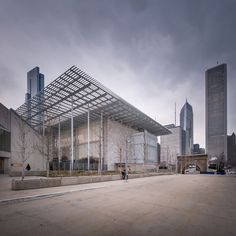 Renzo Piano Building Workshop, Pygmalion Karatzas · Modern Wing at the Art Institute of Chicago