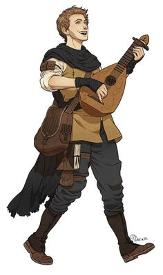 Bard - College of Lore - Courtier/Scholar - Human/Half-Elf Character Creation, Fantasy Character Design, Character Design Inspiration, Character Concept, Character Art, Elf Characters, Dungeons And Dragons Characters, Fantasy Characters, Bard Dungeons And Dragons